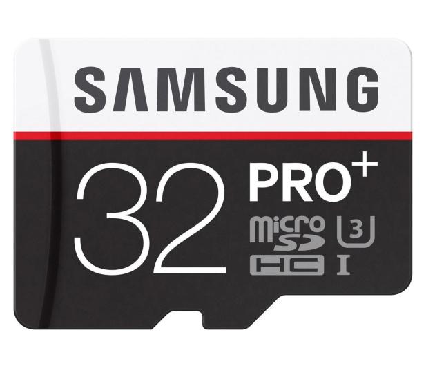 Samsung 32GB microSDHC Pro+ zapis 90MB/s odczyt 95MB/s - 241033 - zdjęcie