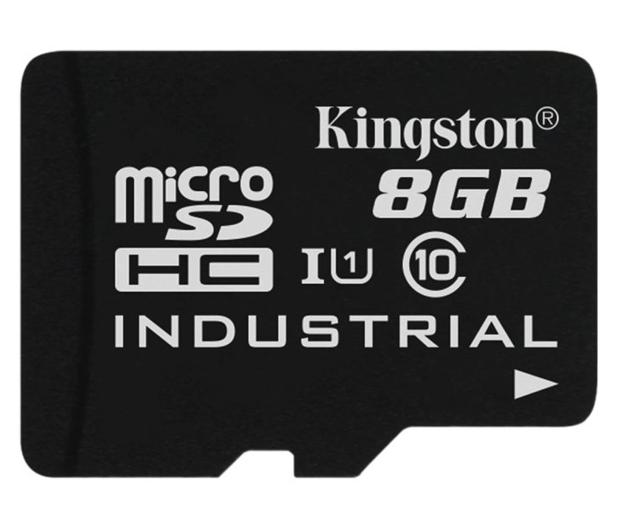 Kingston 8GB microSDHC UHS-I zapis 20MB/s odczyt 90MB/s - 322330 - zdjęcie