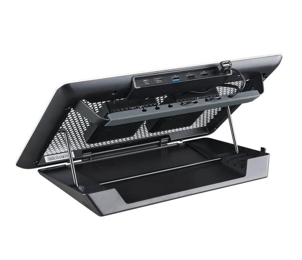 "Cooler Master MasterNotepal Maker (do 17"", USB 3.0, aluminium) - 356301 - zdjęcie 2"