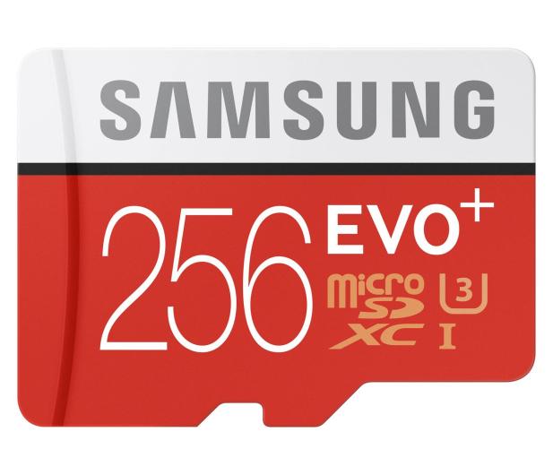 Samsung 256GB microSDXC Evo+ zapis 90MB/s odczyt 95MB/s  - 310212 - zdjęcie