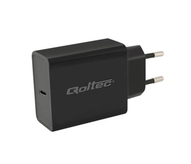 Qoltec Ładowarka sieciowa USB-C PowerDelivery 5-20V 30W  - 354675 - zdjęcie