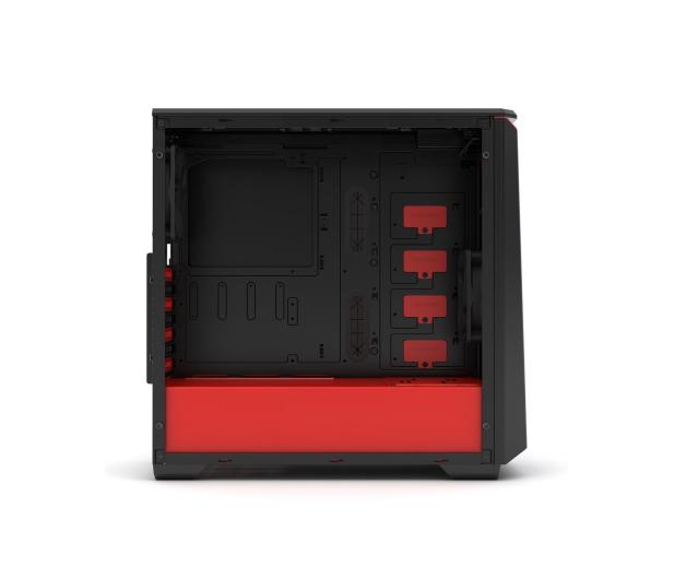 Phanteks Eclipse P400 Tempered Glass czarno-czerwona - 356325 - zdjęcie 8