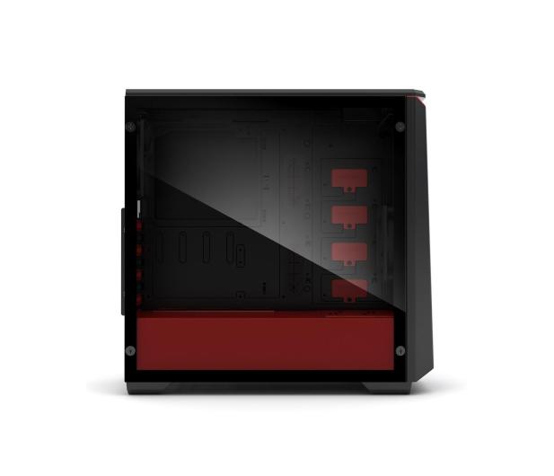 Phanteks Eclipse P400 Tempered Glass czarno-czerwona - 356325 - zdjęcie 4