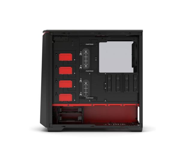 Phanteks Eclipse P400 Tempered Glass czarno-czerwona - 356325 - zdjęcie 7