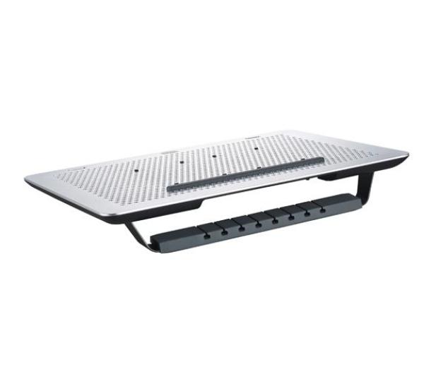 "Cooler Master MasterNotePal (do 17"", aluminium, czarna) - 356305 - zdjęcie 2"