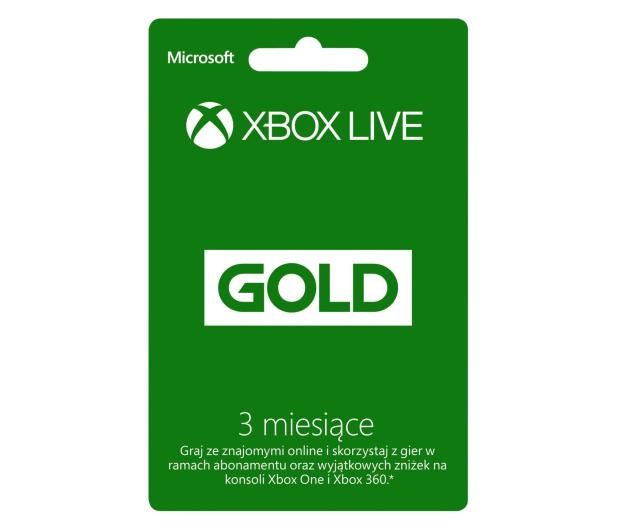 Microsoft Abonament Xbox Live GOLD 3 miesiące (kod) - 162979 - zdjęcie