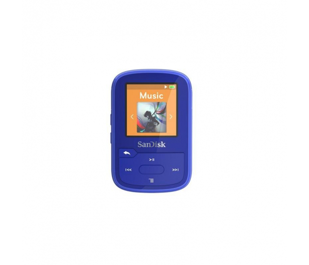 SanDisk Clip Sport Plus 16GB niebieski(bluetooth,tuner FM) - 357221 - zdjęcie 3