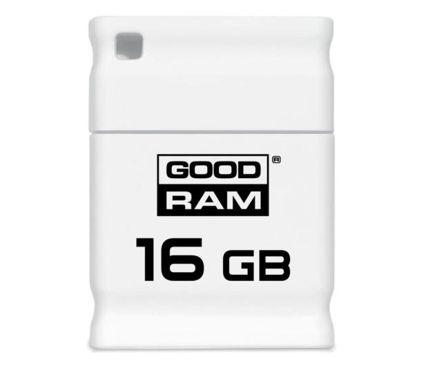 GOODRAM 16GB Piccolo zapis 5MB/s odczyt 20MB/s biały - 303194 - zdjęcie