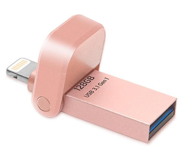 ADATA 128GB i-Memory AI920 rose gold (USB3.1+Lightning)  - 339472 - zdjęcie