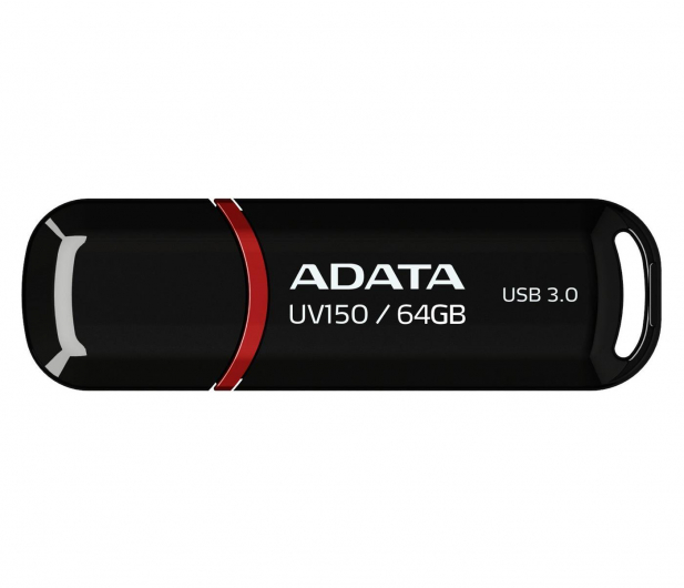 ADATA 64GB DashDrive UV150 czarny (USB 3.1) - 262335 - zdjęcie