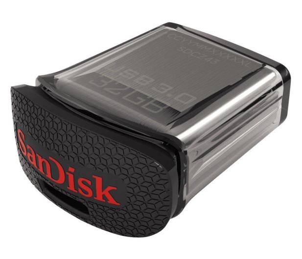 SanDisk 32GB Ultra Fit (USB 3.0) 150MB/s  - 206696 - zdjęcie