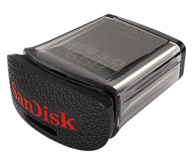 SanDisk 16GB Ultra Fit (USB 3.0) 130MB/s  - 206697 - zdjęcie