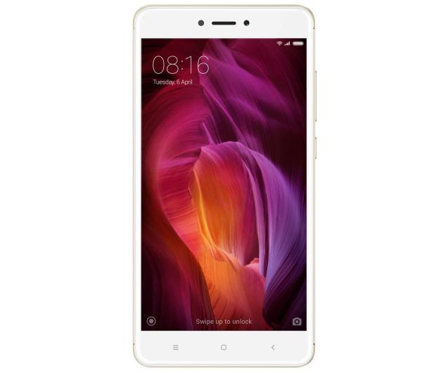 Xiaomi Redmi Note 4 4/64GB Dual SIM LTE Gold - 357620 - zdjęcie 2