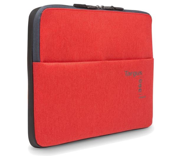 """Targus 360 Perimeter 15.6"""" Laptop Sleeve czerwony - 357870 - zdjęcie"""