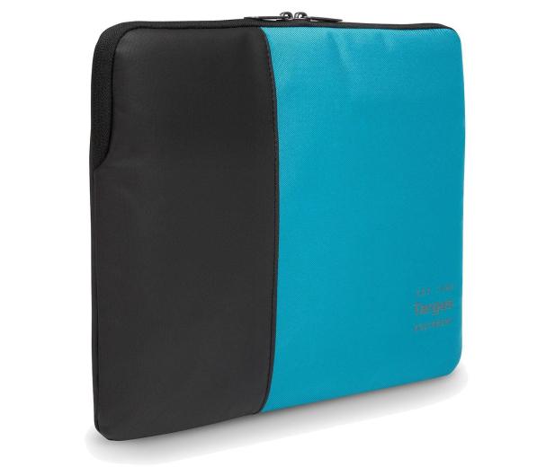 "Targus Pulse 15.6"" Laptop Sleeve czarno-niebieski - 357859 - zdjęcie"