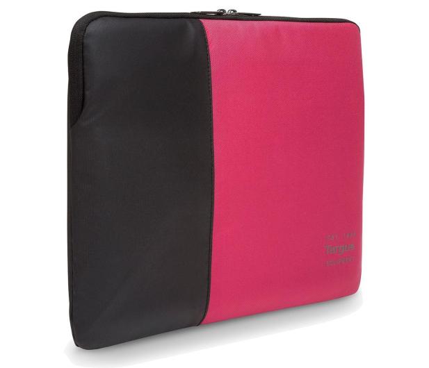 """Targus Pulse 13 - 14"""" Laptop Sleeve czarno-różowy - 357855 - zdjęcie"""