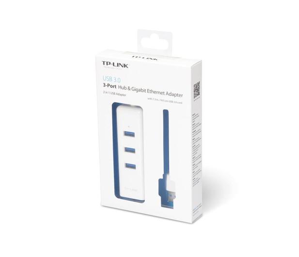TP-Link UE330 (10/100/1000Mbit) Gigabit + HUB 3x USB 3.0 - 358358 - zdjęcie 3