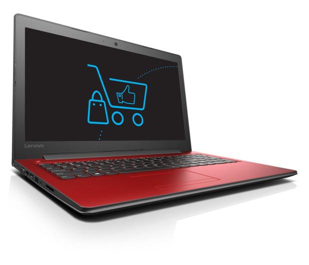 Lenovo Ideapad 310-15 i5-7200U/12GB/1TB GF920MX Czerwony  - 342955 - zdjęcie 3