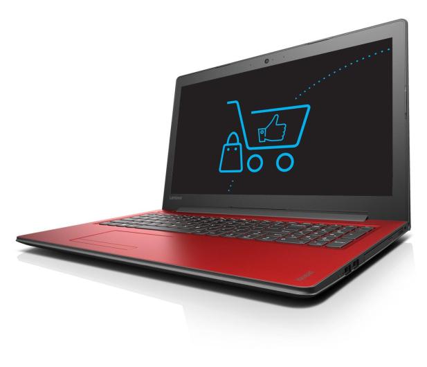 Lenovo Ideapad 310-15 i5-7200U/12GB/1TB GF920MX Czerwony  - 342955 - zdjęcie