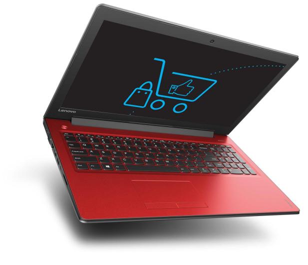 Lenovo Ideapad 310-15 i5-7200U/12GB/1TB GF920MX Czerwony  - 342955 - zdjęcie 4