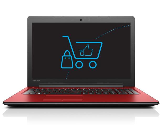 Lenovo Ideapad 310-15 i5-7200U/12GB/1TB GF920MX Czerwony  - 342955 - zdjęcie 2