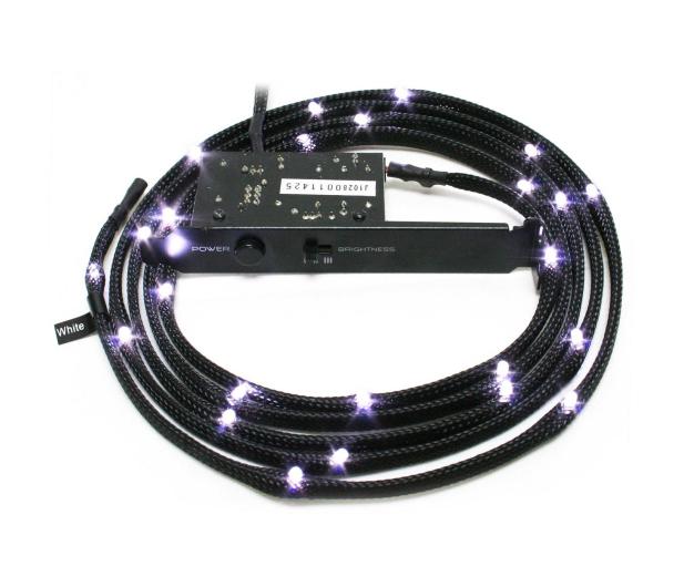 NZXT Zestaw oświetlający LED biały 2m - 358198 - zdjęcie