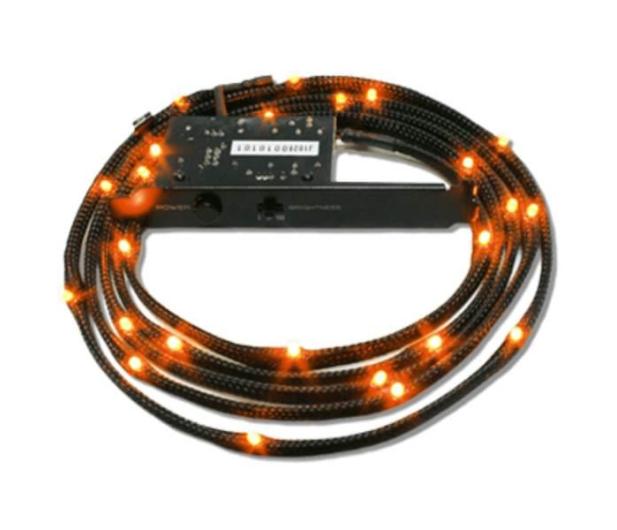 NZXT Zestaw oświetlający LED pomarańczowy 2m - 358201 - zdjęcie