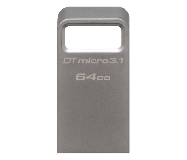 Kingston 64GB DataTraveler Micro 3.1 (USB 3.1) 100MB/s - 247151 - zdjęcie 1