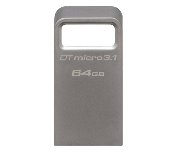 Kingston 64GB DataTraveler Micro 3.1 (USB 3.1) 100MB/s - 247151 - zdjęcie