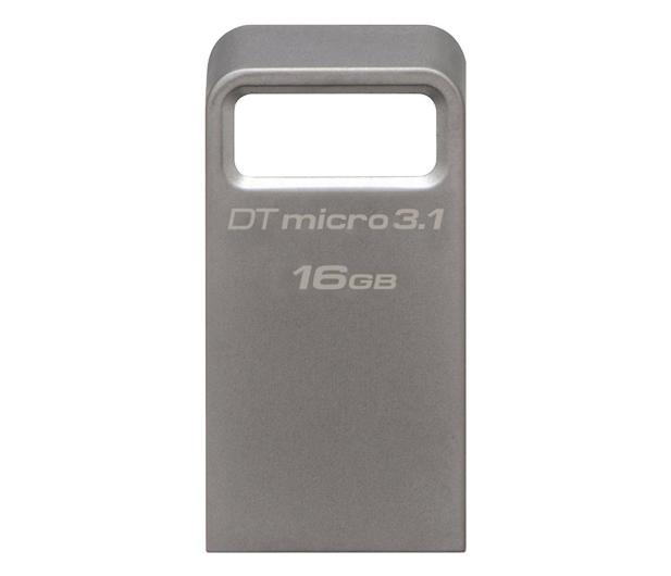 Kingston 16GB DataTraveler Micro 3.1 (USB 3.1) 100MB/s - 247146 - zdjęcie