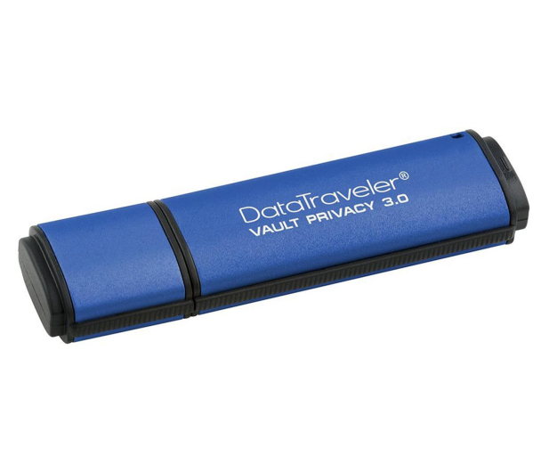 Kingston 8GB DataTraveler VP30 AES Encrypted USB 3.0 - 162178 - zdjęcie