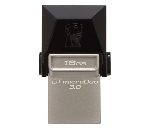 Kingston 16GB DataTraveler microDuo (USB 3.0) OTG - 202775 - zdjęcie