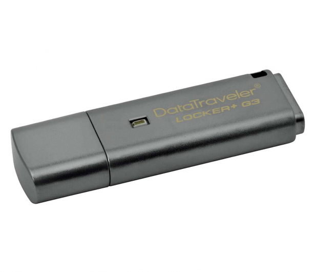 Kingston 32GB DataTraveler Locker+ G3 (USB 3.0) 135MB/s - 169209 - zdjęcie