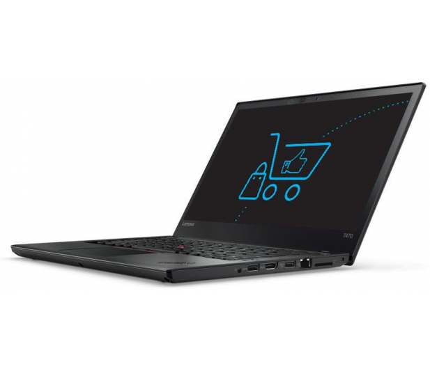 Lenovo ThinkPad T470 i5-7200U/16GB/256SSD FHD  - 353447 - zdjęcie