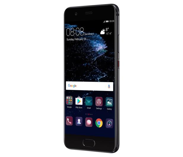 Huawei P10 DS 64GB czarny + Plecki Skóra/Filc ciemnoszary - 359862 - zdjęcie 8