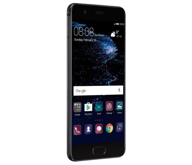 Huawei P10 DS 64GB czarny + Plecki Skóra/Filc ciemnoszary - 359862 - zdjęcie 7
