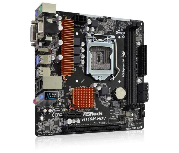 ASRock H110M-HDV R3.0 (PCI-E DDR4 USB3.0) - 354553 - zdjęcie 3
