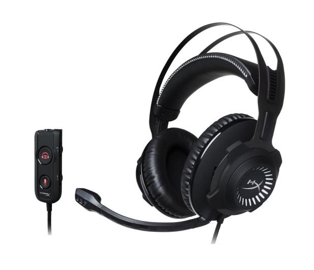 HyperX Cloud Revolver S Headset (stalowoszare) - 354641 - zdjęcie