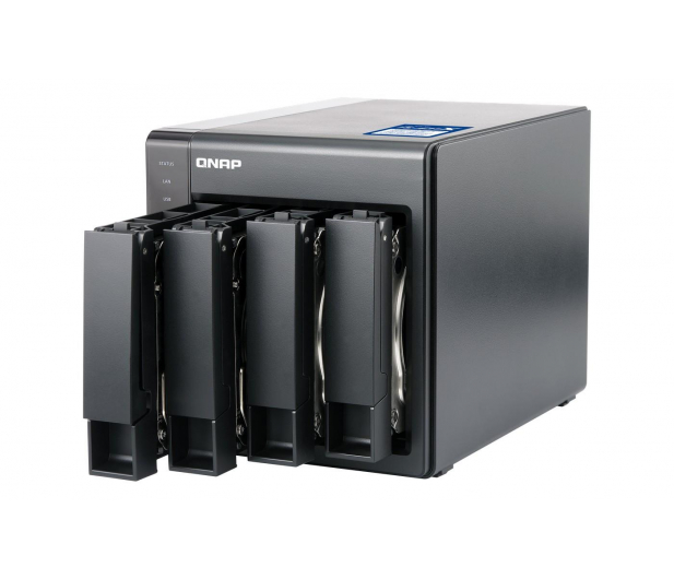 QNAP TS-431X2-8G (4xHDD, 4x1.7GHz, 8GB, 3xUSB, 3xLAN)  - 395968 - zdjęcie 4