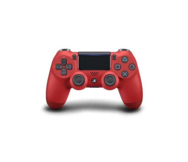 Sony PlayStation 4 DualShock 4 Magma RED V2 - 360518 - zdjęcie