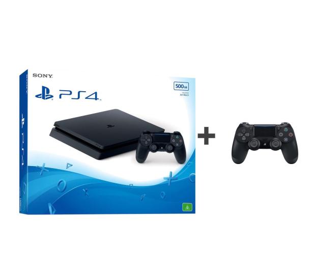 Sony PlayStation 4 Slim 500GB + Pad DS4 - 360680 - zdjęcie