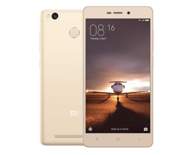 Xiaomi Redmi 3S 32GB Dual SIM LTE Gold  - 331540 - zdjęcie