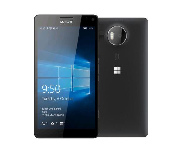 Microsoft Lumia 950 XL Dual SIM LTE czarny - 263667 - zdjęcie