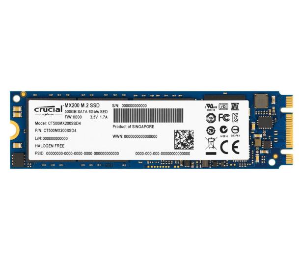 Crucial 500GB SSD MX200 M.2 2280 - 225133 - zdjęcie