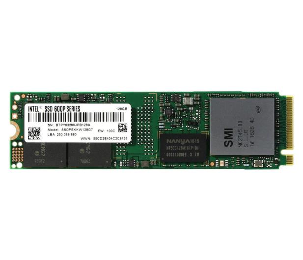 Intel 128GB SATA SSD Seria 600p M.2 2280 - 334479 - zdjęcie