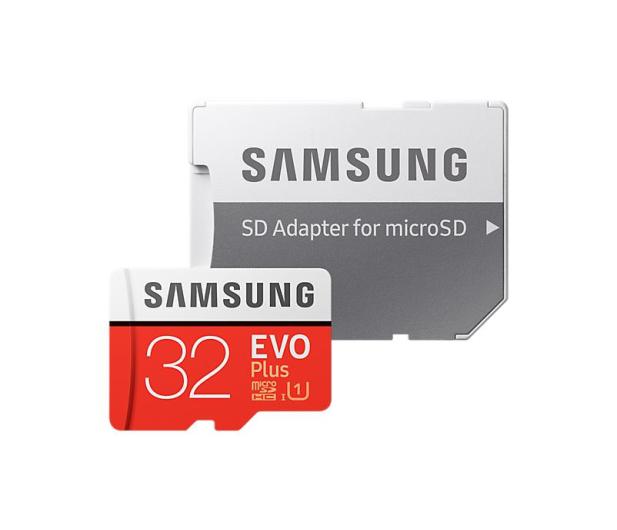 Samsung 32GB microSDHC Evo Plus zapis20MB/s odczyt95MB/s  - 360783 - zdjęcie 3