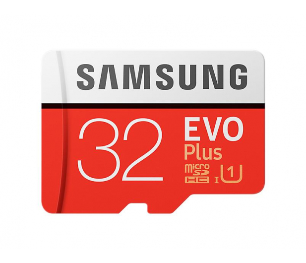 Samsung 32GB microSDHC Evo Plus zapis20MB/s odczyt95MB/s  - 360783 - zdjęcie