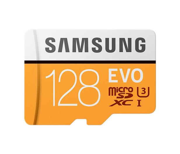 Samsung 128GB microSDXC Evo zapis 90MB/s odczyt 100MB/s  - 360778 - zdjęcie