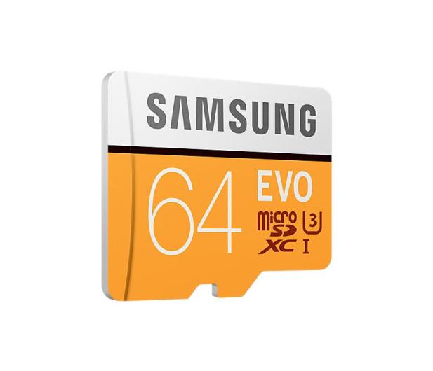 Samsung 64GB microSDXC Evo zapis 60MB/s odczyt 100MB/s  - 360776 - zdjęcie 2