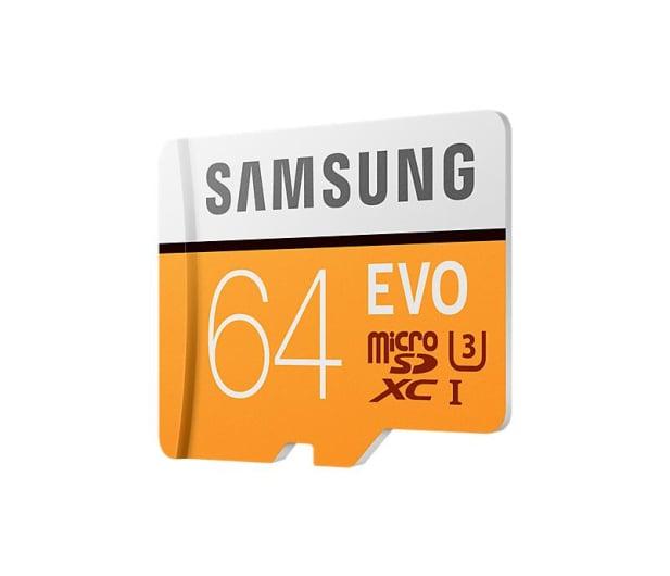 Samsung 64GB microSDXC Evo zapis 60MB/s odczyt 100MB/s  - 360776 - zdjęcie 4